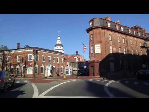 Driving by Annapolis,Maryland