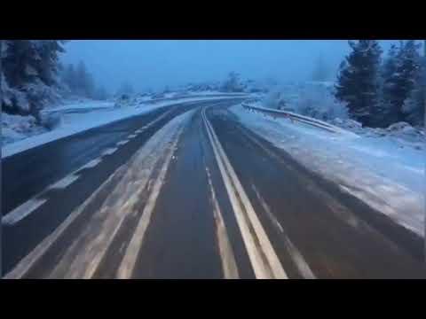 Vídeo | La nieve dificulta la circulación en A Fonsagrada