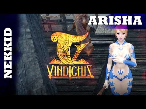 Vindictus – Nekkid Arisha vs. Blood Lord – Arisha Mid-game Gameplay