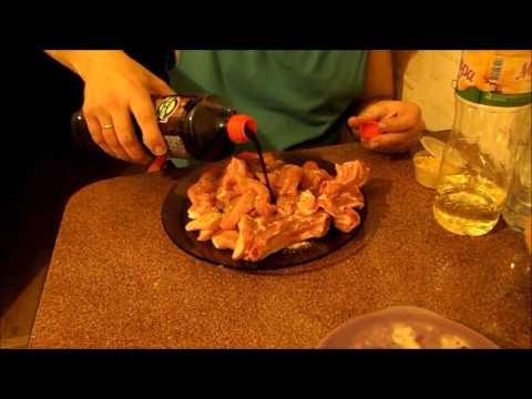 Свинина в соевом соусе Видео Рецепт