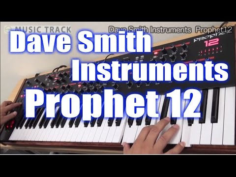 Dave Smith Instruments Prophet12 Demo&Review [English Captions]