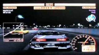 Tokyo Xtreme Racer 2 Dreamcast vs. Wanderer Rainy Day