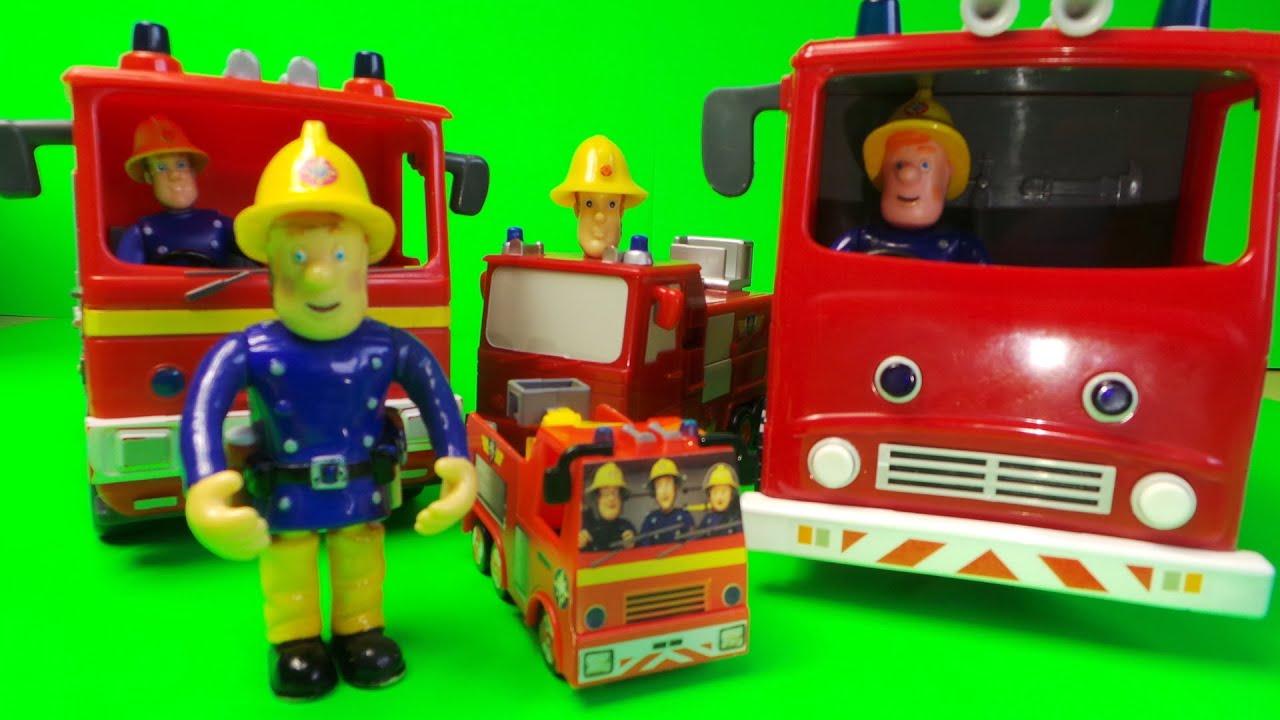 Best Fireman Sam Toys Kids : Top firefighter fireman sam jupiter fire engine toys