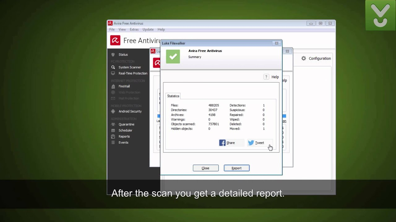 Avira Free Antivirus - Get free protection for home users - Download Video Previews