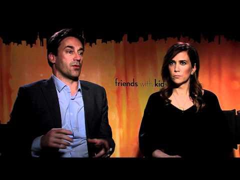 "Friends with Kids: Interview: ""Jon Hamm and Kristen Wigg: Improving on Set"""