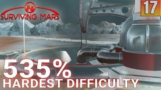 Surviving Mars 535% HARDEST DIFFICULTY - Part 17 - More Machine Parts - Gameplay