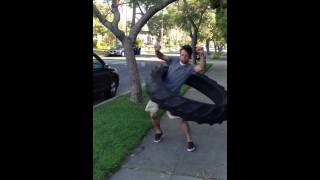 Guy Hula Hoops 100 pound Tire!!!!!! WORLD RECORD!
