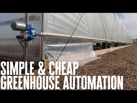 Simple & Cheap Greenhouse Automation