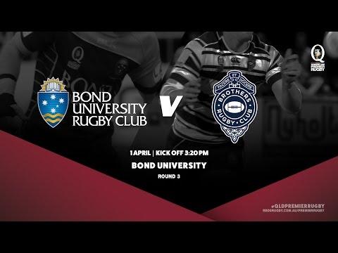 Queensland Premier Rugby R3: Bond University v Brothers