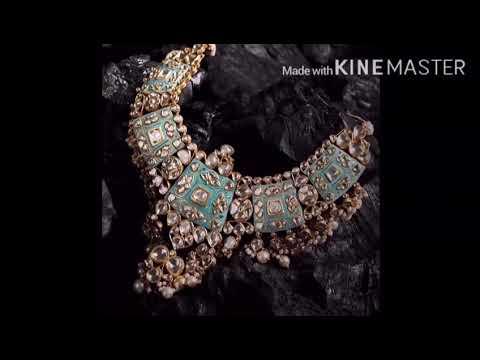 Latest trendy and elegant bride jewelry