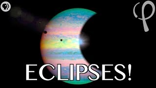Craziest eclipses in the solar system