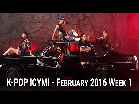 K-Pop New Releases - February 2016 Week 1 - K-Pop ICYMI