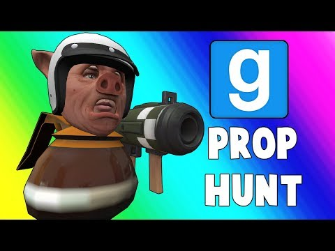 Gmod Prop Hunt Funny Moments - The