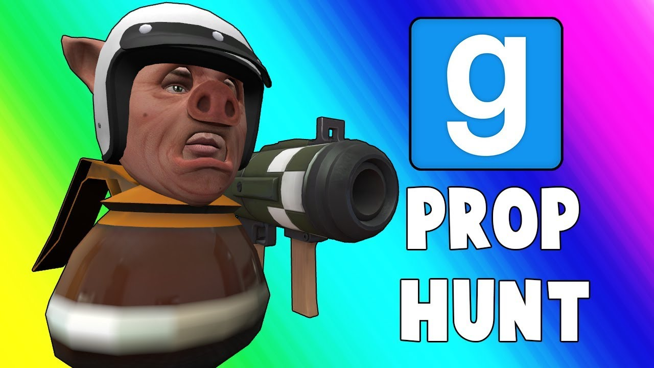 """Gmod Prop Hunt Funny Moments - The """"Z room"""" (Garry's Mod)"""