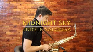 Midnight Sky - Unique Salonga (Saxserenade Version) Cover
