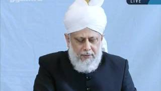 Juma khutbah Hamburg, Germany, 7th-oct-2011-persented by khalid Qadiani ahmadi-clip 2.flv