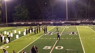 2017 MHS Marching Band Performance at Meadville HS - LMBA