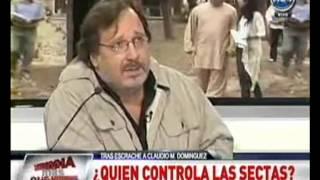 Alejandro Agostinelli - Sobre Claudio María Dominguez, sectas y el Maestro Amor - A24 (08-05-2012)
