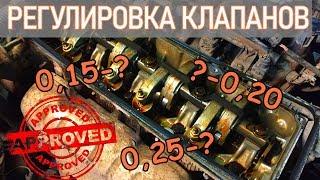 Регулировка клапанов. Полная версия. Перезалив. | Видеолекция#3