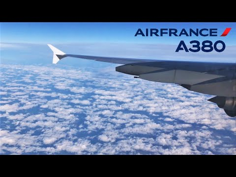Air France Airbus A380-800, Miami to Paris Charles de Gaulle CDG (Economy)