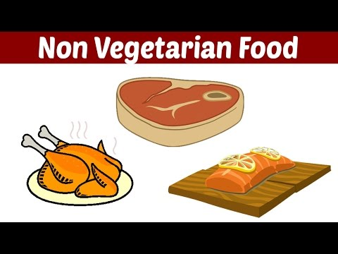 Non Vegetarian Food Learn About The Food We Eat Youtube