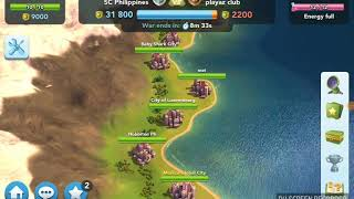 Simcity BuildIt Club War - Video Replays of Disco Twister, Shrink Ray, and Comic Hand