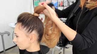 Как сделать красивый высокий хвост из волос. Быстрая легкая прическа  | YourBestBlog(Как сделать стильный хвост из волос. Французский хвост. Прическа на каждый день за 5 минут. YourBestBlog — видеодн..., 2015-04-26T07:00:00.000Z)