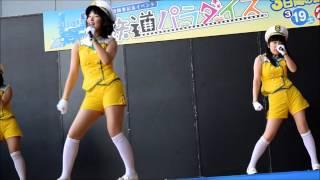 説明京都鉄道博物館オープン前記念、イベントでのミニライブの模様です。