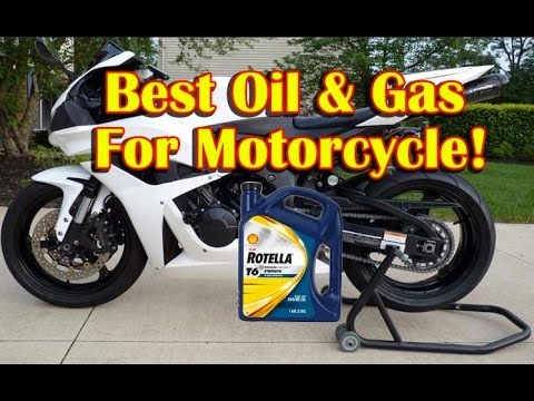 best motorcycle oil and gas - shell rotella t-6 5w-40 oil review