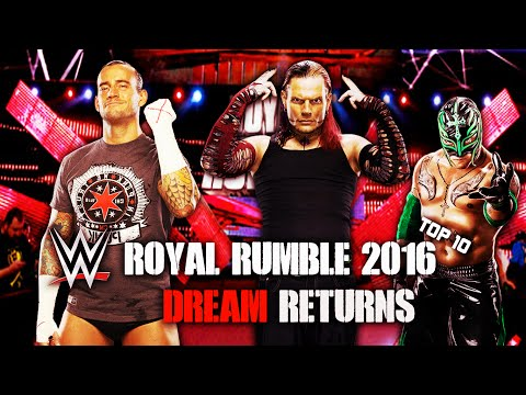 WWE ROYAL RUMBLE 2016 DREAM RETURNS (TOP 10) ᴴᴰ