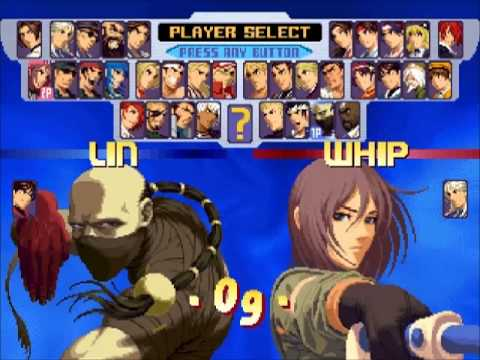 The King of Fighters 2000 English AES