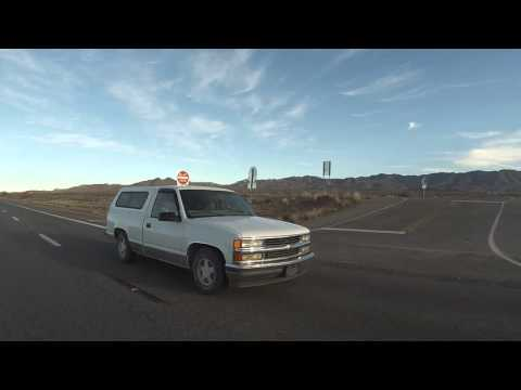 U.S. Route 93 South toward Kingman, Arizona, 19 December 2015, Left Rear View, GP050253