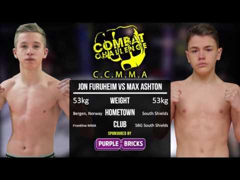 Combat Challenge North East 7: Max Ashton vs Jon Furuheim