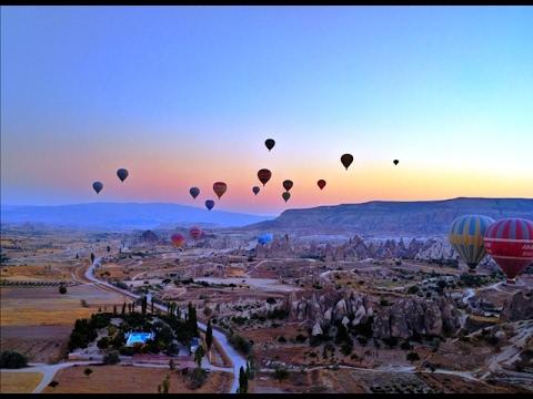Hot Air Balloon Ride in Cappadocia, Turkey (Full HD - GoPro)