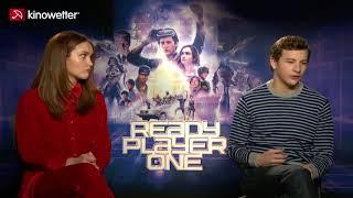 Interview Tye Sheridan & Olivia Cooke READY PLAYER ONE