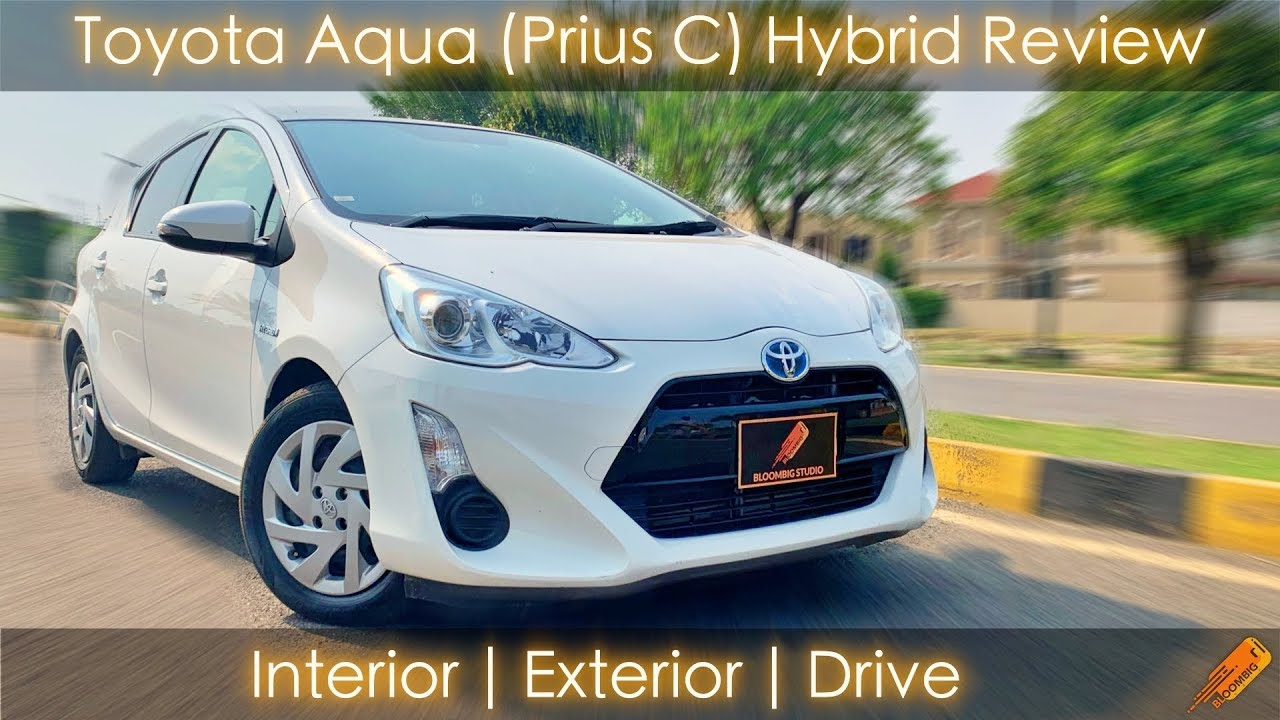 Toyota Aqua Prius C 2020 Detailed Review Best Hybrid In 2020 Youtube