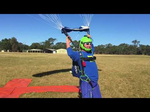 Cool Skydive Parachute Landings in Australia