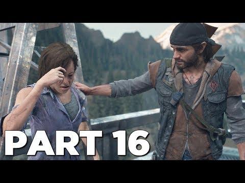 DAYS GONE Walkthrough Gameplay Part 16 - ROSE (PS4 Pro)