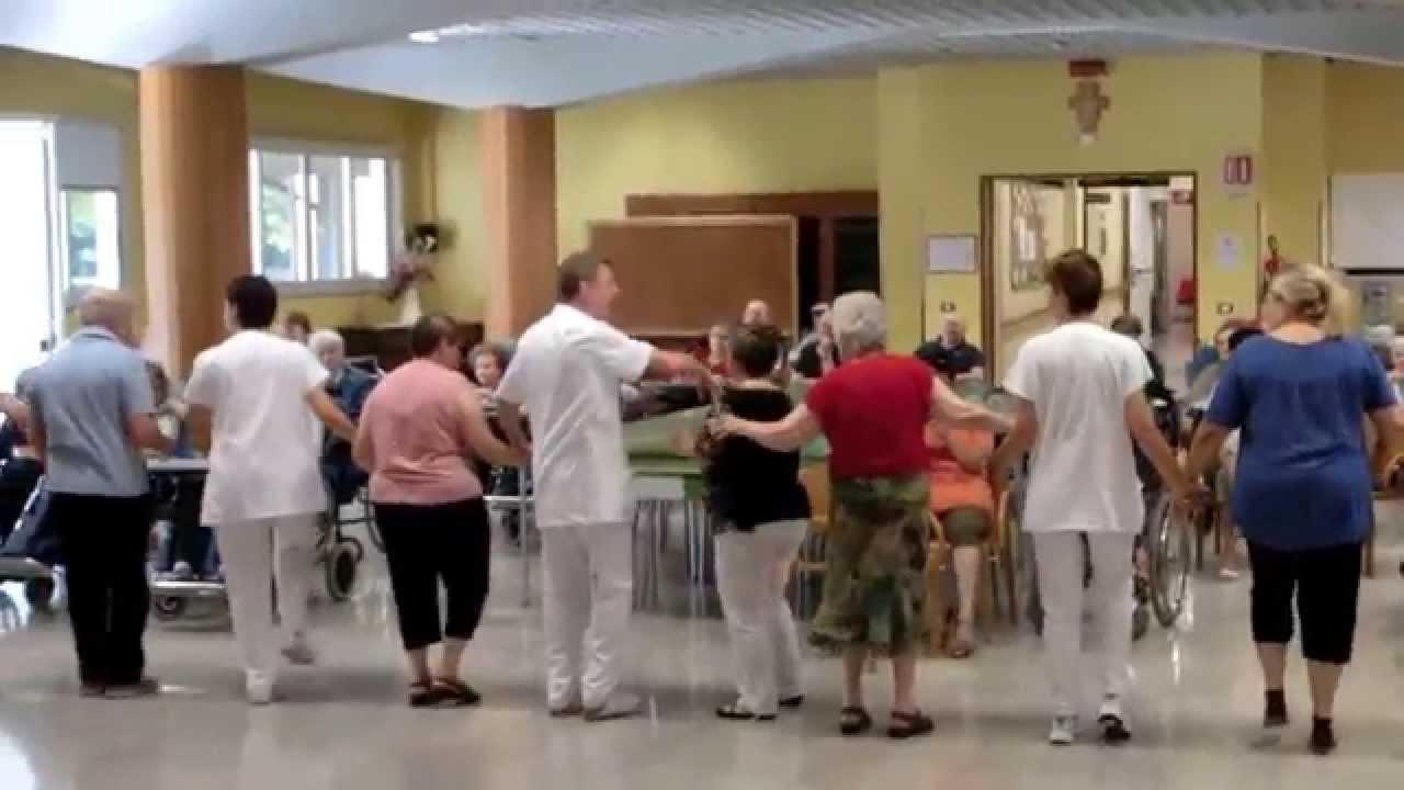 Gioved musica e ballo in casa di riposo a san vito al for Piani di progettazione di case di riposo
