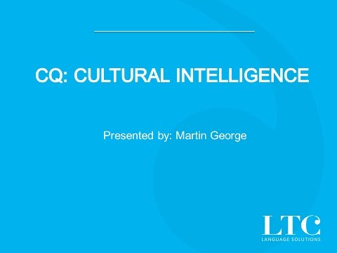 Martin George on Cultural Intelligence
