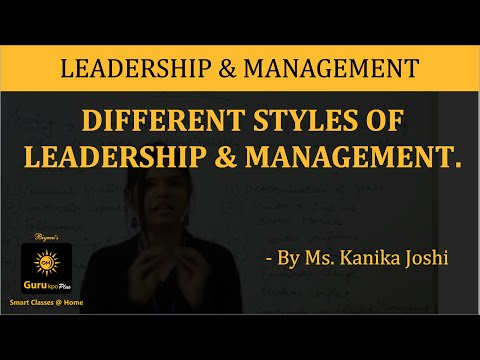 Leadership, Management  (B.Com II, MBA), Gurukpo