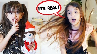 ELF ON THE SHELF IS REAL! Telling Emily Elf is ALIVE! | TwoSistersToyStyle