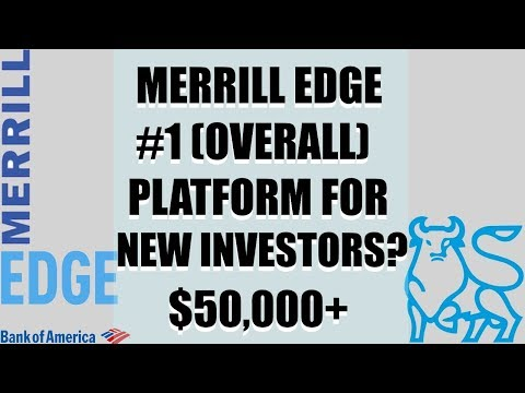 Bank of America Merrill Edge - Best Broker For Investing With $50,000+, Get 30 Free Trades & Tools