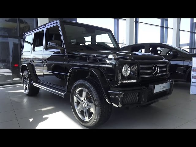 2016 Mercedes-Benz G 350d (W463). Обзор (интерьер, экстерьер, двигатель).