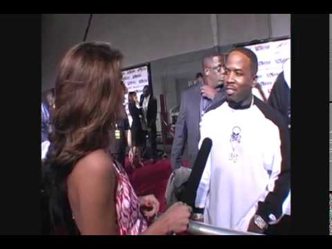 Big Boi from OutKast interview backstage