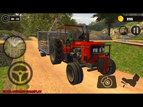 Superhero Animal Transport Tractor Simulator 2018 #4 - New Tractor Unlocked Android GamePlay FHD