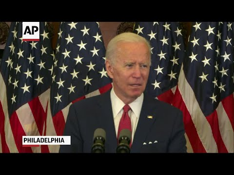 Biden: Trump more set on 'power than principle'