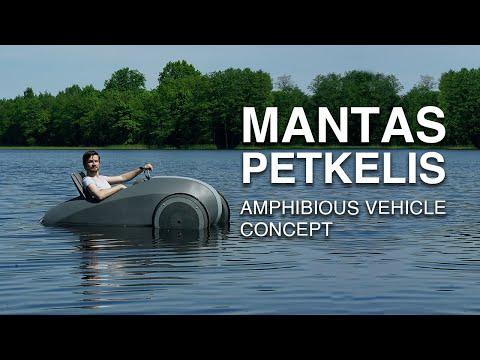 Electric Amphibious Vehicle Concept | Vilnius Academy of Arts 2017 | Mantas Petkelis
