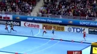 Бикулов 4х400 Забег Чемпионат мира Сопот