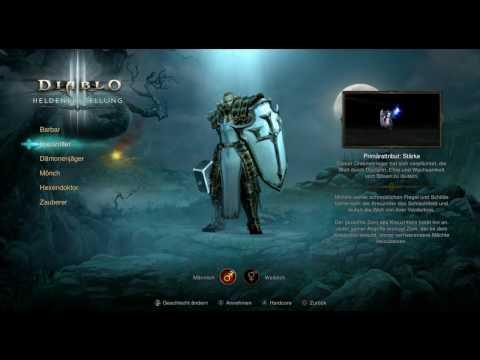 Let's Play  Diablo 3 Ultimate Evil Edition PS4 Gameplay German Deutsch Part 1 - Kreuzritter